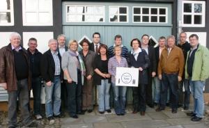CDU Vorstand Spelle Information zur Tafel