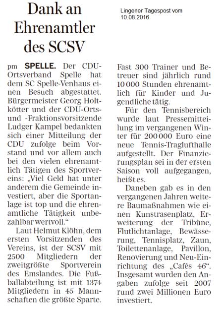 ZeitungsbereichtSCSV