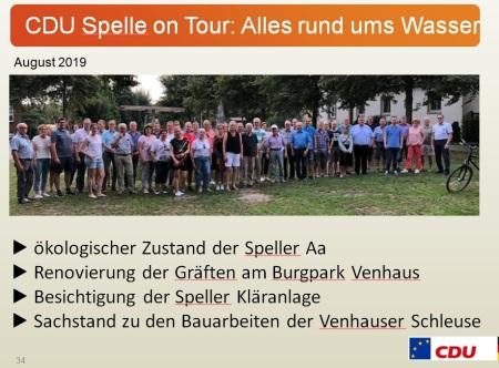 CDU Spelle on Tour Alles rund ums Wasser